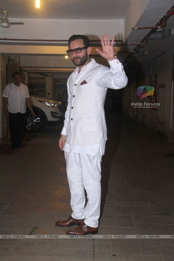 Birthday Bash of Saif Ali Khan
