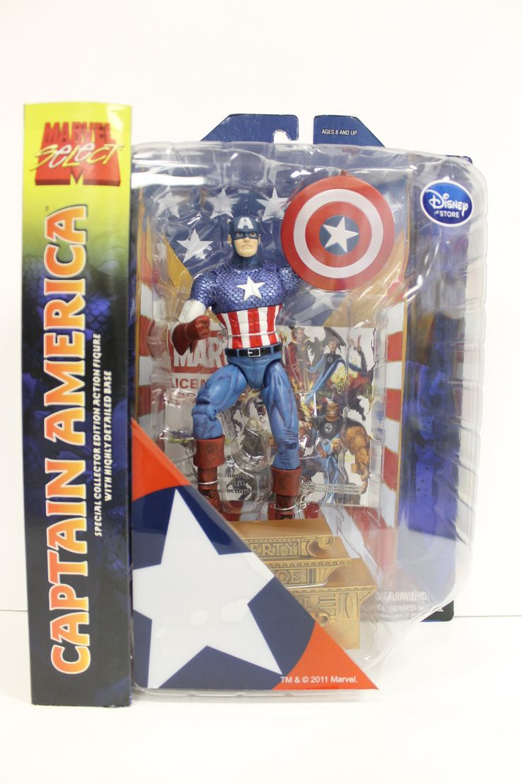 Marvel Select Captin America Disney Store Exlcusive