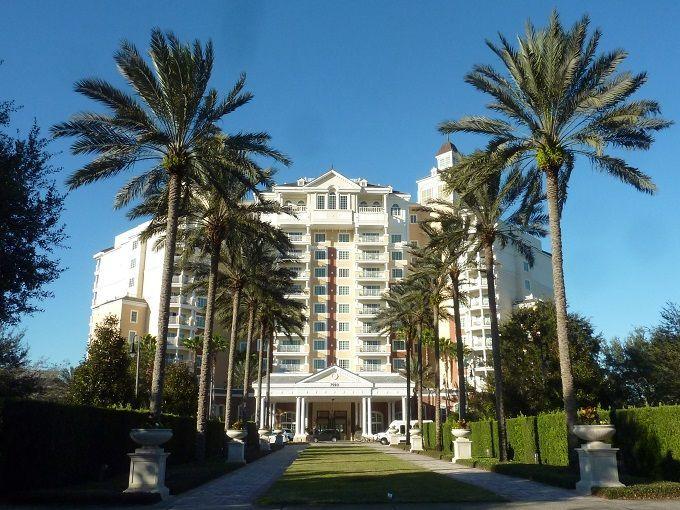 米国フロリダ州オーランドのゴルフリゾート「リユニオン・リゾート」にて。Reunion Resort in Orlando, Florida, USA.
