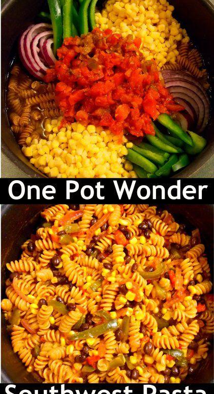 1 pot wonder southwest pasta 2