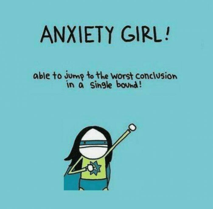 Anxiety Girl!