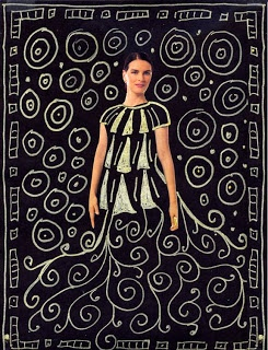 Art Projects for Kids: artist Klimt - could be mixed media (collage and gel…
