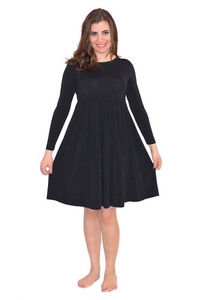 BEACH SWIM DRESS LONG SHIRT COVER SUN PROTECTION CLOTHING FOR WOMEN #ECOSTINGER #Swimdress