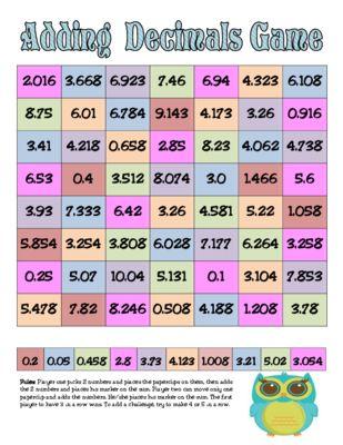 math worksheet : 1000 ideas about adding decimals on pinterest  decimal decimal  : Math Worksheets Adding And Subtracting Decimals