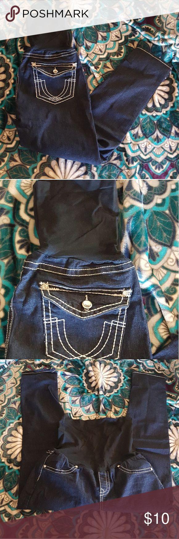 Bella Vida Maternity Jeans Belle Vida Maternity Jeans Skinny Jeans Stretchy top Size L Bella vida Pants