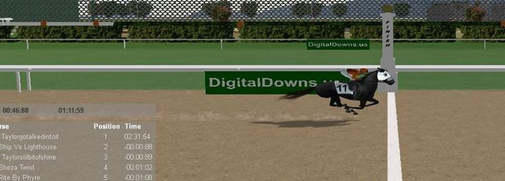 Taylorgotalkedintoit ridden out through the wire to score impressively by a big space!