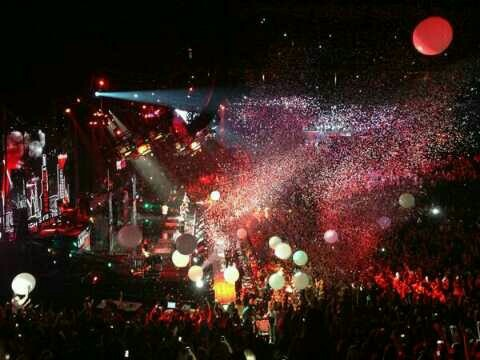 Arena during WMYB 1st Miami show
