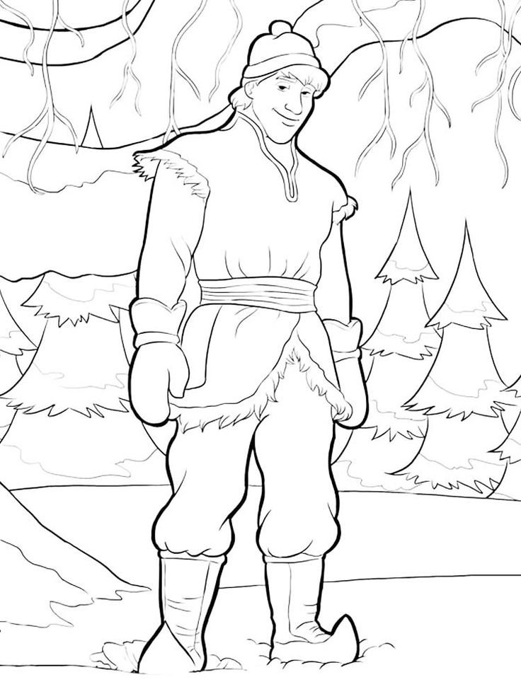 frozen coloring pages a4 printable. Who doesn't know the ...