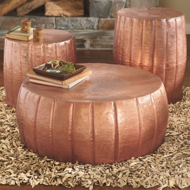 Copper Kettle Drum Coffee Table: 17 Best Images About Coffee Table On Pinterest