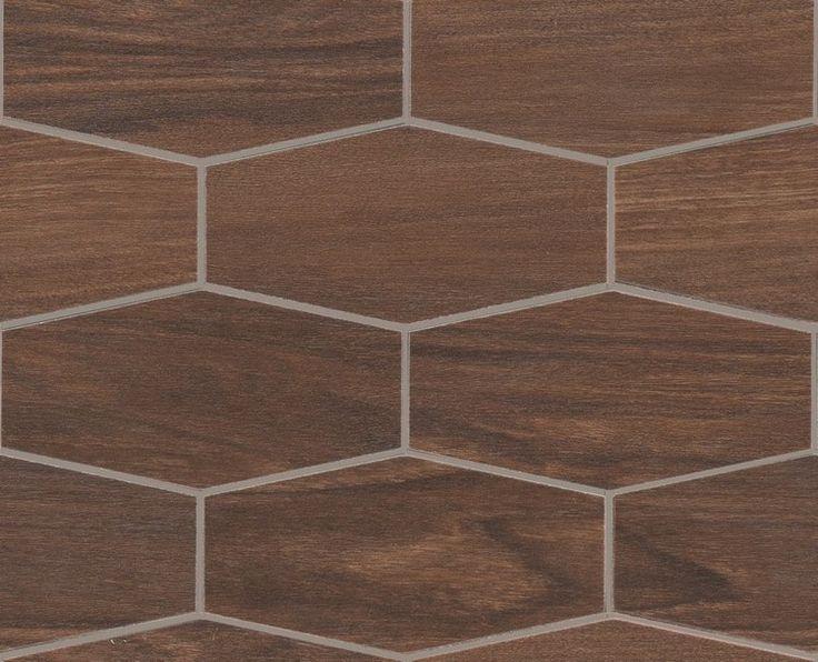 #Marazzi #TreverkChic #Mosaico Noce Americano 25x30 cm MH5R | #Gres | su #casaebagno.it a 165 Euro/mq | #mosaico #bagno #cucina