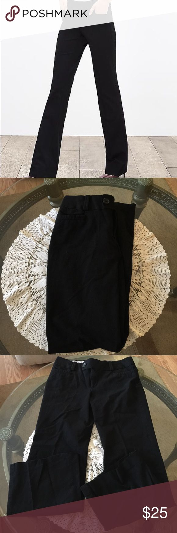 Banana Republic Pants Banana Republic trouser no 323 Martin fit. Stretchy. Excellent condition though may be a little linty from storage. No holes or stains. Inseam is 27 1/2 inches and length is 39 1/2 inches Banana Republic Pants Trousers