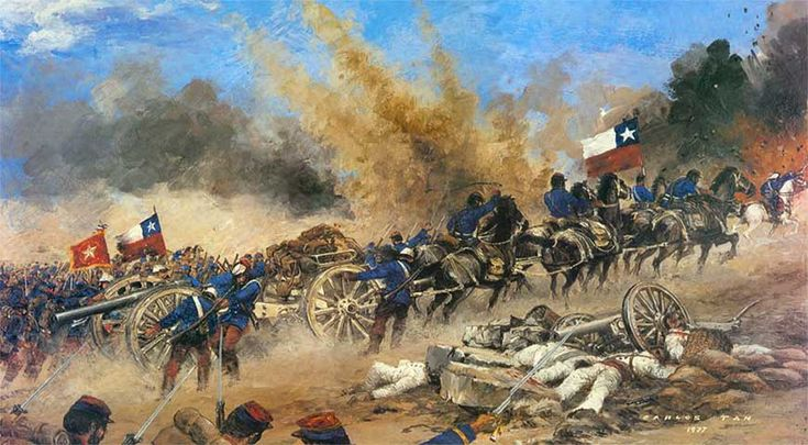 la guerra del pacifico - Buscar con Google Batalla de Miraflores 15 de enero de 1881