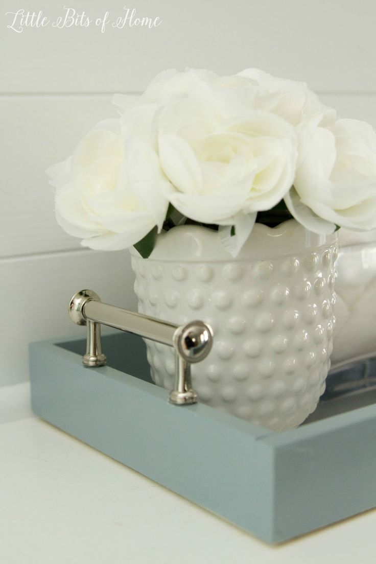 Create A Designated Spot For Your Bathroom Counter To
