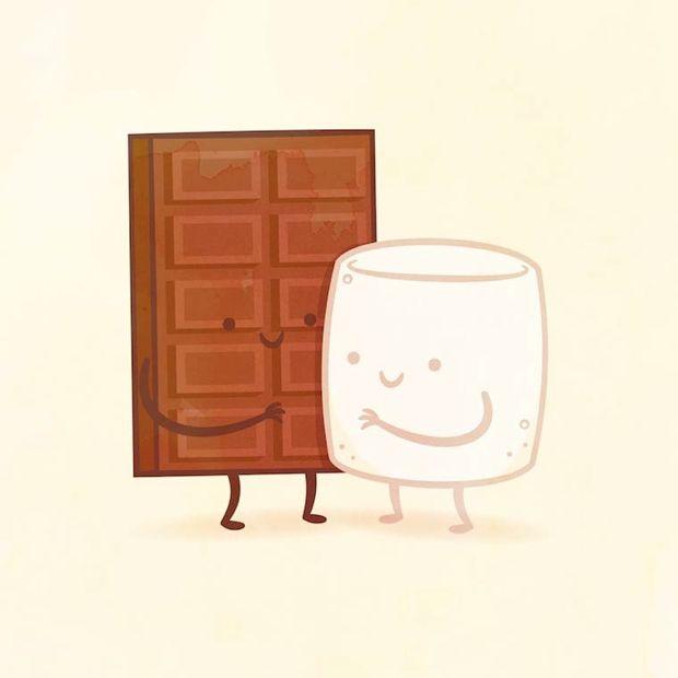 Hay parejas que deberían estar unidas para siempre. Y no, no hablo de personas ni gente famosa, hablo de parejas gastronómicas. Y es que Philip Tseng, un diseñador de San Diego (Estados Unidos), ha creado una serie de ilustraciones que unen diferentes alimentos que deberían ir siempre juntos: la…