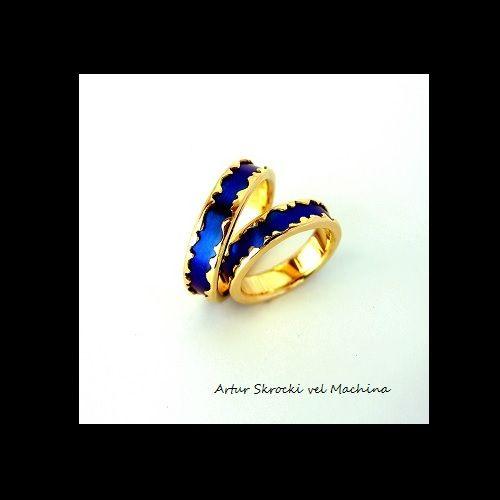 inneobraczki  blue gold