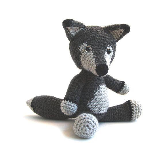 Crochet Wolf Amigurumi Pattern Free
