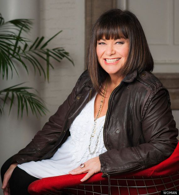 Dawn French (The Vicar of Dbley!!!) | Women Over 50 and fabulous: A list of fascinating, top women over 50, photos, shopping, and tips for being stylish when you are a 50+ woman | aging gracefully, beautiful women over 50 |