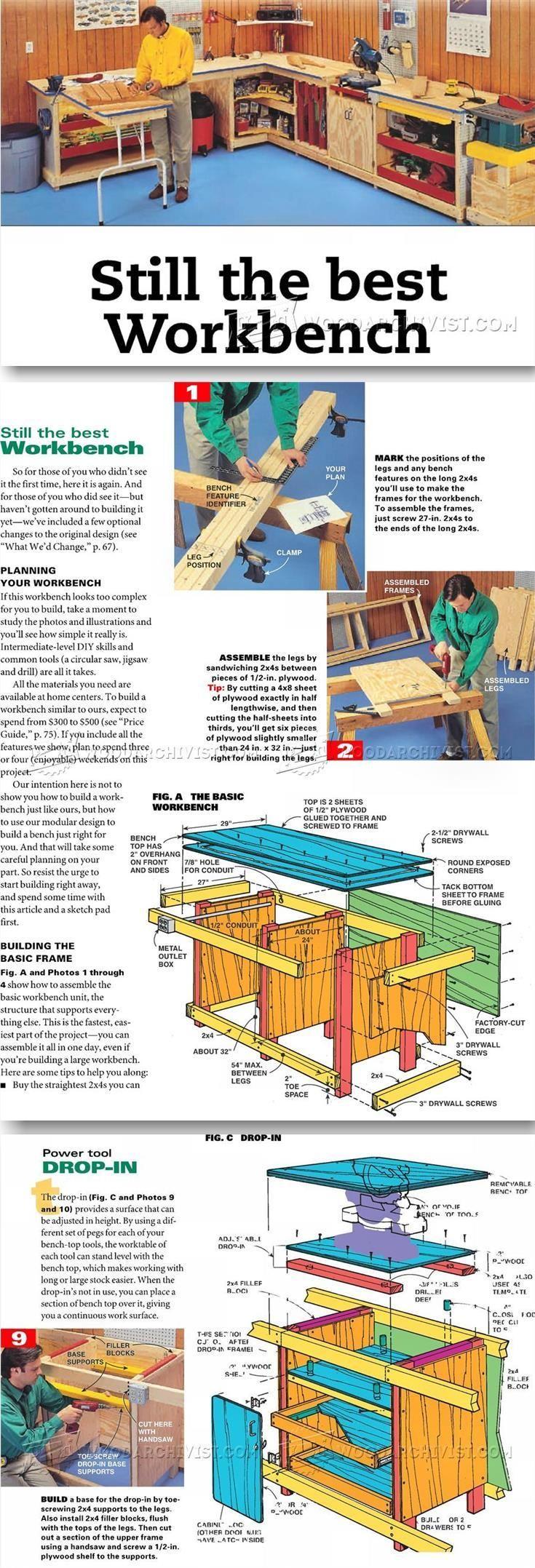 Workstation Plans - Workshop Solutions Plans, Tips and Tricks | WoodArchivist.com