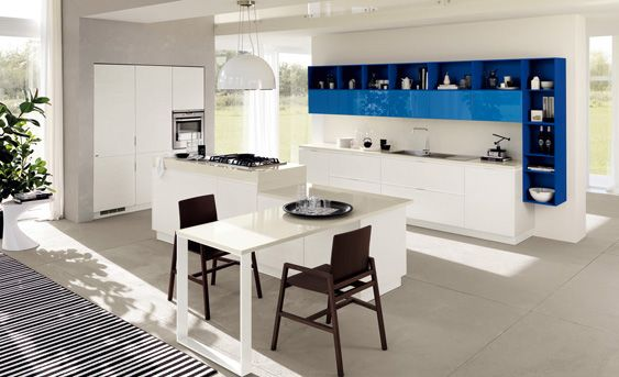 Kitchens and Bathrooms Living: Scavolini always expected something more!