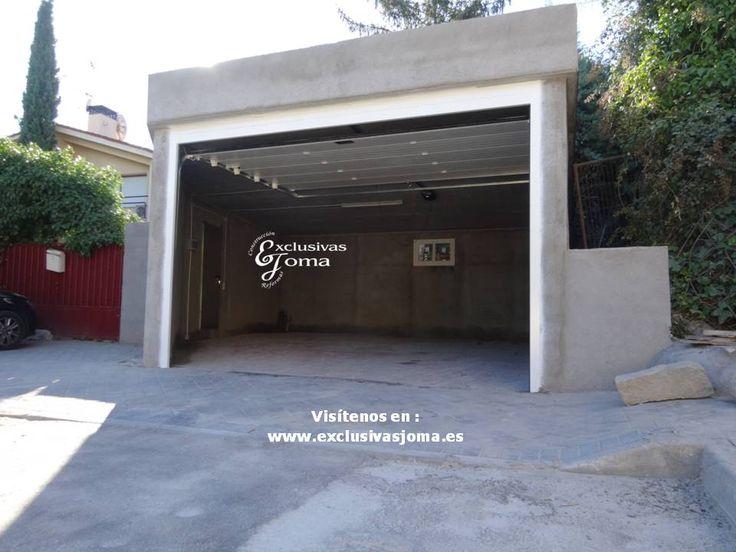 M s de 25 ideas incre bles sobre cubierta plana en for Garajes chalets