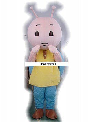 Slak mascotte kostuum