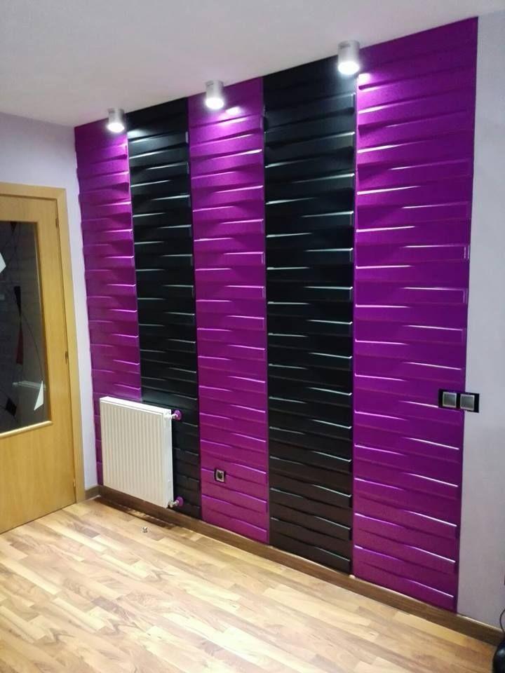 31 best paneles decorativos 3d images on pinterest for Placas decorativas paredes interiores