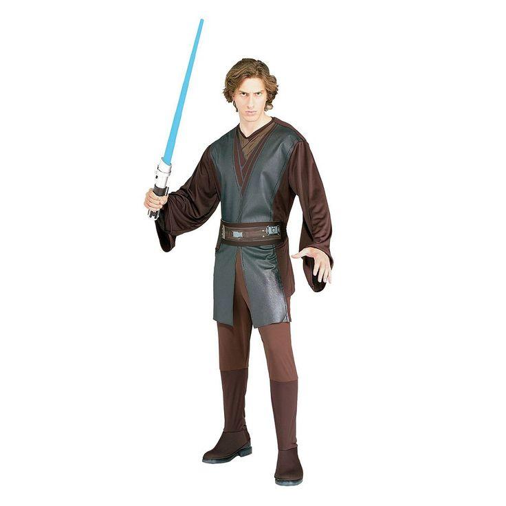 Star Wars Anakin Skywalker Costume - Adult, Men's, Brown