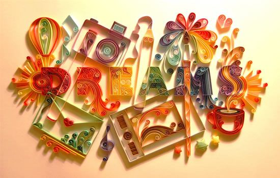 paper quilling of fire - Google Search