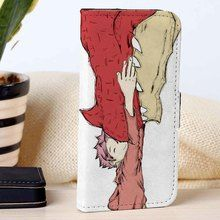Igneel and Natsu Fairy Tail | Anime | Movie | custom wallet case for iphone 4/4s 5 5s 5c 6 6plus case and samsung galaxy s3 s4 s5 s6 case