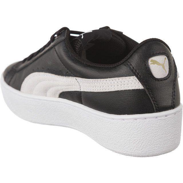 Sportowe Damskie Puma Czarne Puma Vikky Platform L 01 Puma Vikky Platform Platform Sneakers Shoes