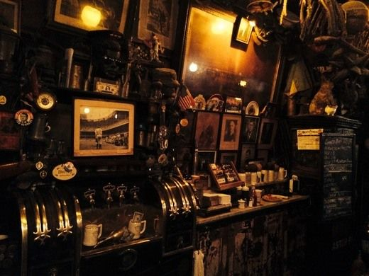 Touching mementoes from those who didn't make it back from World War I still hang in one of New York's oldest bars.