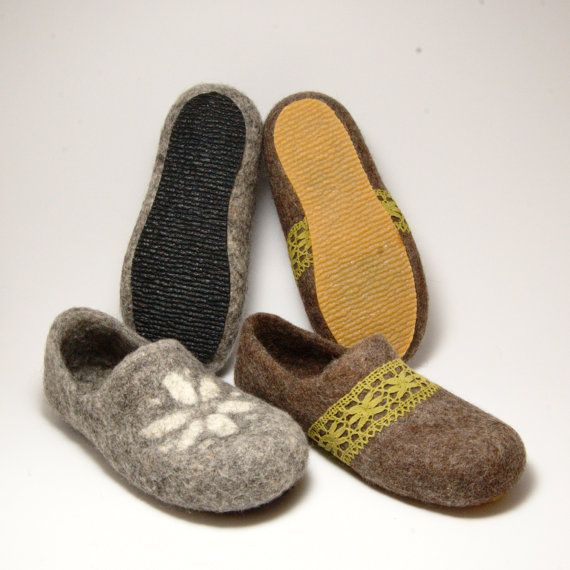 Natural rubber soles for my felted clogs and slippers by Rasae, $14.00