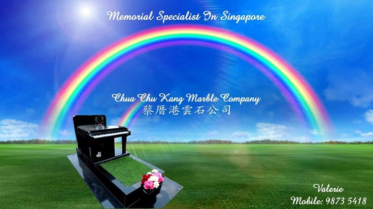 Honor your loved one with a Customized Monument Design. To truly honor the unique personality of a loved one who's recently passed, consider a custom made monument that will express your enduring love and respect for the person they were. Uniquely personalized monuments reflect on the many great memories that live on even after your loved one has passed.  Contact Valerie at 98735418 for any enquiry. Email: valerie@cckmco.com.sg #customized #tombstones #headstone #engraved  #chuachukangmarble