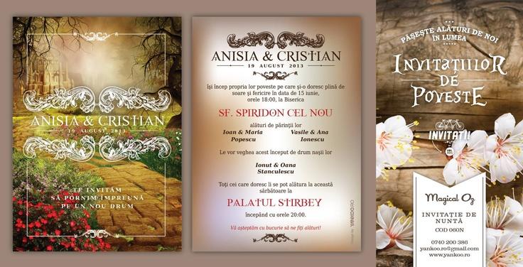 Magical Oz - Wedding Invitation - www.yankoo.ro