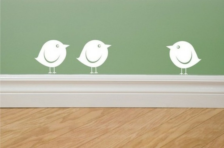 grappige simpele vogeltjes