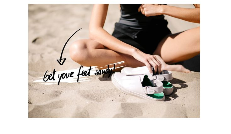 Ready to take the next step? –  Lutreet  shoes women sneakers fashion outfit minimal original girl beach sand boulevard edition venice beach young style blogger exclusive designer girly