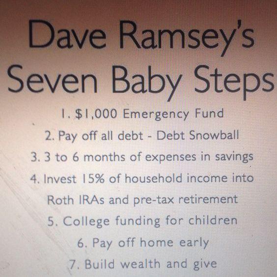 Dave Ramsey radio programme.