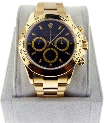 Rolex Daytona 16528 18kt Mens Watch - brands for mens watches, mens fine watches, mens watches online sale