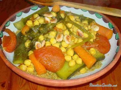 Cus-cus (receta marroquí)