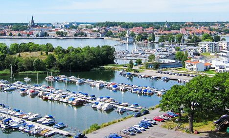 Västervik on the Swedish East coast. Here you find Swedens most beautiful archipelago with more then 5000 Islands.