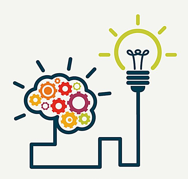 creative brain and lamp wiring design vector, Thinking, Brain, Connection, Background image