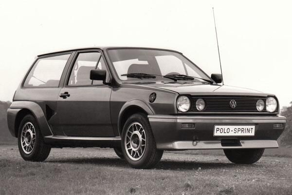 Phwoar - chavtastic olop porn. Sprint was a 155bhp rear-engined, rear-drive Mk 2 Polo hatch