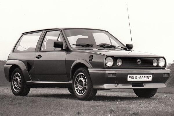 Phwoar - chavtastic olop porn. Sprint was a 155bhp rear-engined, rear-drive Mk 2 Polo hatch