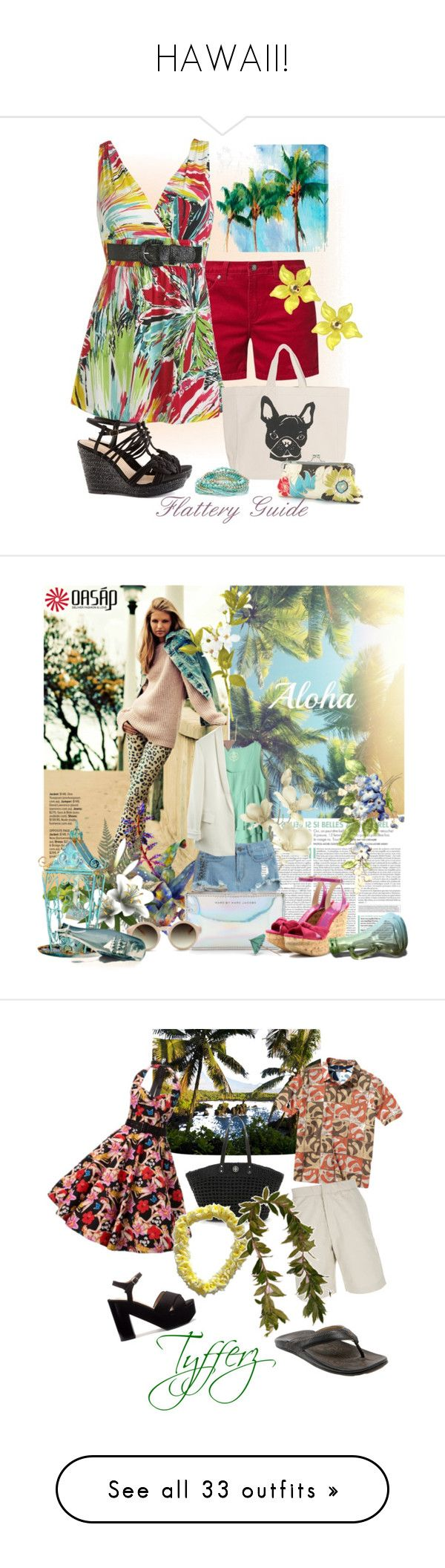 HAWAII! by mk-style on Polyvore featuring polyvore fashion style Cost Plus World Market Mazine Wet Seal 5 Preview H&M Accessorize Tarina Tarantino clothing Wedges tropical summeroutfit Pier 1 Imports Marc by Marc Jacobs Retrò Jimmy Choo Zara OluKai Quiksilver Gaspard Yurkievich Tory Burch quicksilver hawaii Lauren Ralph Lauren Fantasy Jewelry Box Vivienne Westwood GUESS CO-OP Barneys New York Wallis Mar y Sol Fat Face Kate Spade FOSSIL Giambattista Valli Nicki Minaj Zimmermann OPI Sephora…