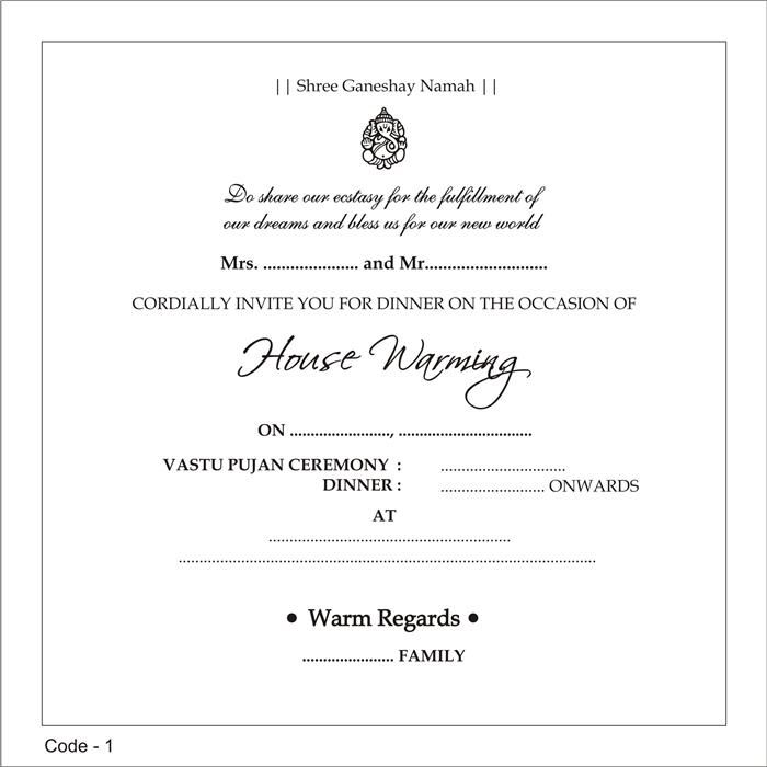 9 best invitations images on Pinterest Hindus, Cards and Colors - housewarming invitation template