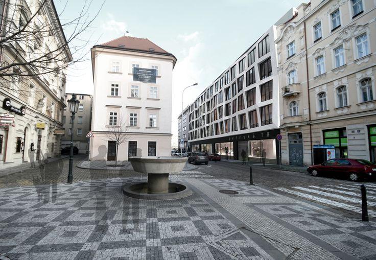 Schindler Seko - Petrská, telefonní ústředna, Praha