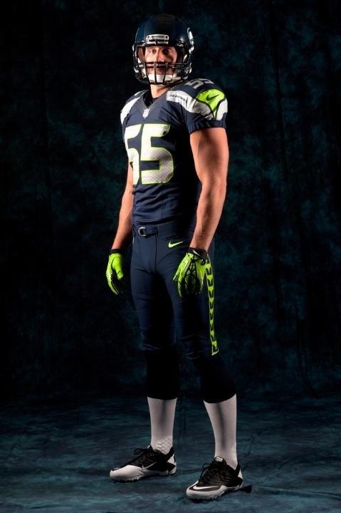 Seattle Seahawks new uniform.