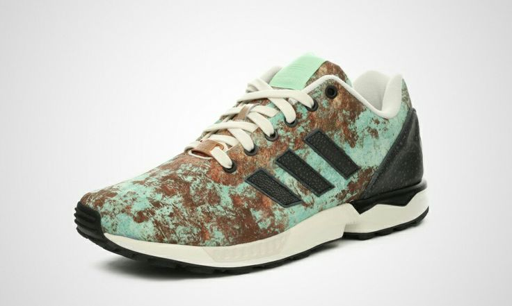 ZX Flux Core Black/Blush Green/Cream White