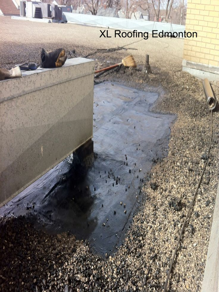 All that's left of this repair by XL Roofing is to cover it up with gravel. This is a finished repair with sealed edges and torched down all the way through. *** Lloydminster roofing,  Edmonton roofing,  Edmonton roofing company,  Edmonton roofing contractor,  roofing companies Edmonton, roofing contractors Edmonton,  Edmonton roofing companies,  Edmonton roofing contractors,  metal roofing contractors edmonton, roof repair edmonton, affordable roofing edmonton, Edmonton Roof Snow Removal