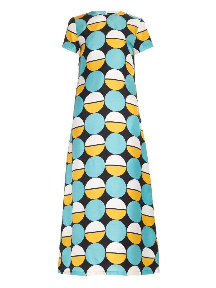 Sphere silk maxi dress by La DoubleJ Editions | Shop now at #MATCHESFASHION.COM